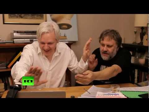 Julian Assange's The World Tomorrow: Slavoj Zizek & David Horowitz (E2)