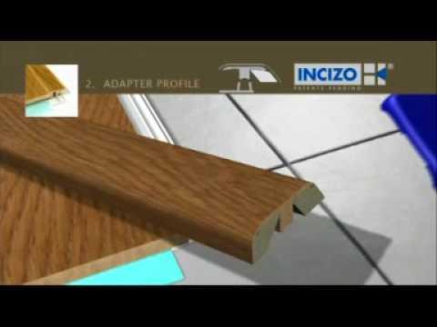 Quick Step Incizo Wood Threshold Installation Youtube