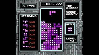 NES Tetris A-TYPE LVL 0 - Session 3