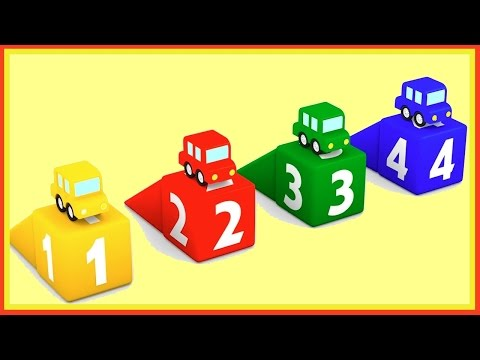 COLORS - Cartoon Cars Compilation. Cartoons For Kids Children's Animation Videos For Kids