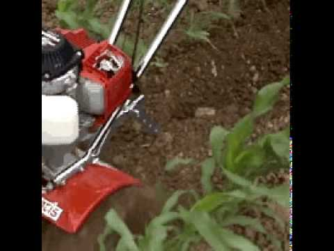 Tiller Plow Attachment Mantis Tillers Using The Plow