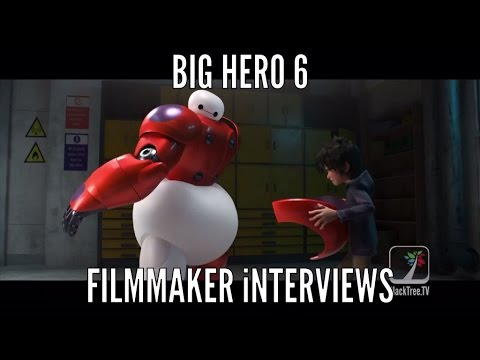 Big Hero 6 Filmmakers Don Hall And Chris Williams Interview