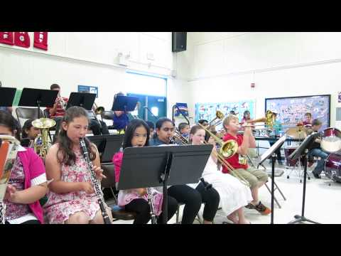 Lincoln Elementary School Band 2013