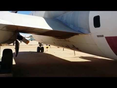 Pima Air & Space Museum Balair HB-ILY Boeing C-97 Stratofreighter