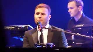 "Gary Barlow Solo Tour - ""OPEN ROAD"" - Bournemouth BIC - 13/11/12  ** Opening Night of Tour **"