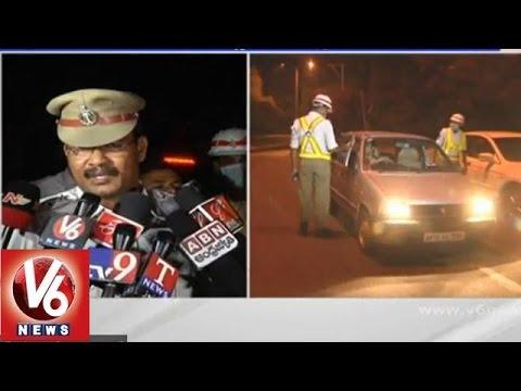 Drunk & Drive search operation near Basavatarakam Cancer hospital - Hyderabad