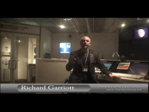 Richard Garriott at the Buehler Challenger Learning Center