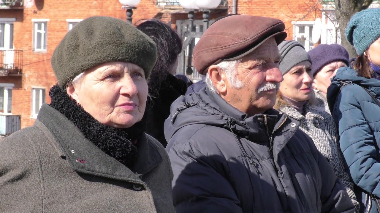 """У Калуші Шевченові присвятили поетичну виставу """"Послужи ж, моя ти зброє, молодій іще силі..."""""""