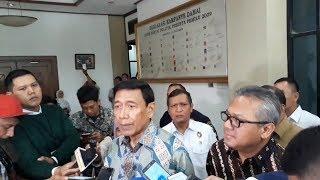 Wiranto Tinjau Persiapan Penyelenggaraan Pemilu di KPU