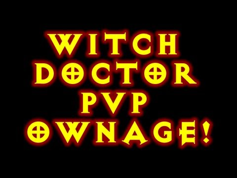 Witch Doctor Pvp Ownage!
