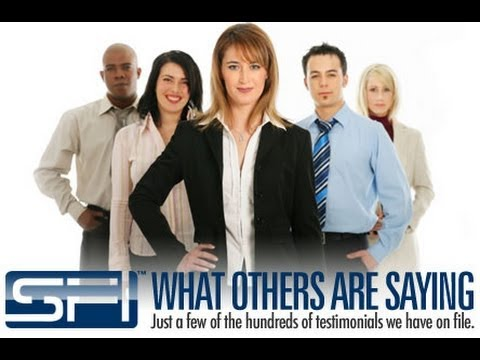 SFI Affiliate Marketing Group What Others are Saying Just a few of the Hundreds of Testimonials