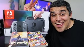 Nintendo Switch - Unboxing DETAILED of the New Console!