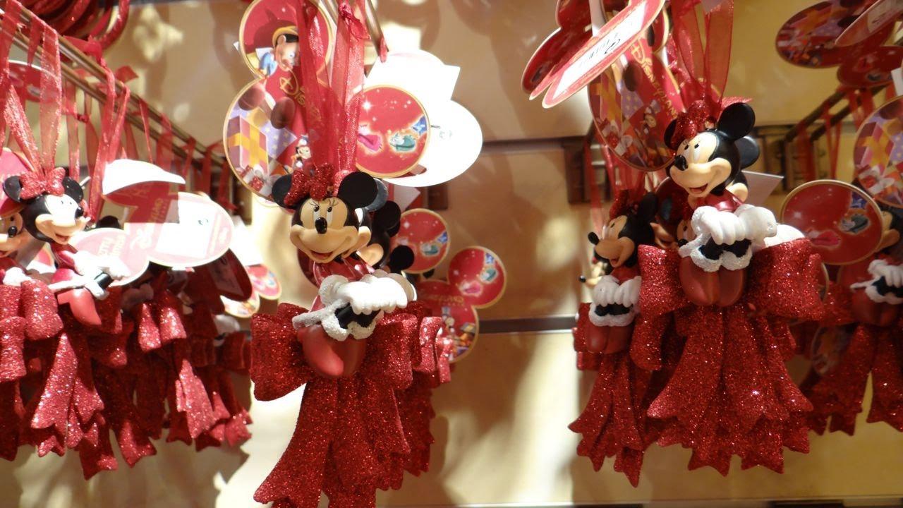 Disneyland paris shopping new christmas decorations 2013 for New xmas decorations
