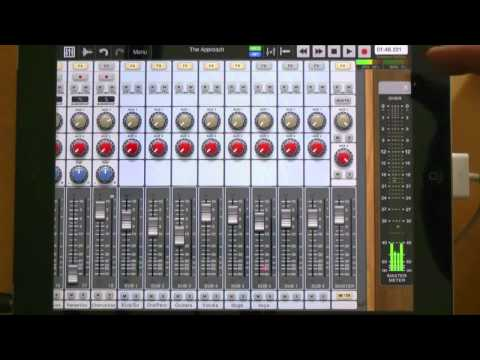 Review Of Auria iPad DAW From Wavemachine Labs - Extended Video