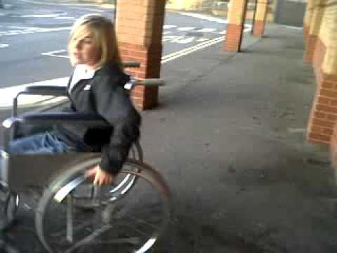 Lauren Nd The Wheelchair 2 Funny As Fuck Btw Ha.3gp video