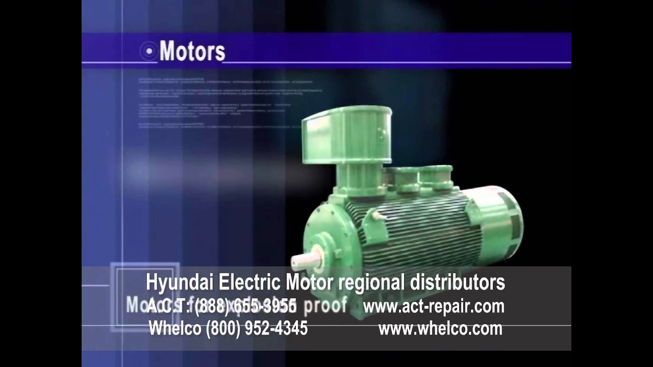 Hyundai Electric Motors Regional Distributors Act Whelco Youtube