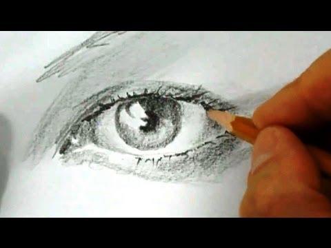 Видео как научиться рисовать девочек карандашом