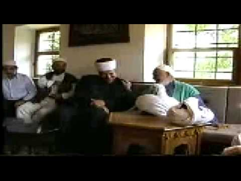 Sheikh Nazim Mostar Bosnia 1998 - الشيخ ناظم النقشبندي موستار