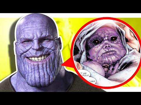 ТАНОС: Почему ТАНОС безумный титан? (Marvel Comics) (Thanos Rising)