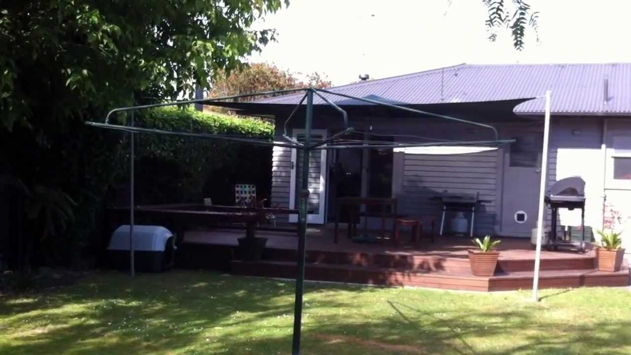 How To Put Up A 5 4m X 5 4m Shade Sail Youtube