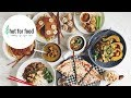 EASY VEGAN MEAL PREP | $100 Challenge | hot for food