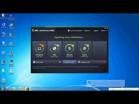 How to install AVG - Virus Removal- Free Antivirus Protection 2015