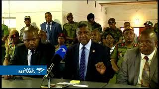 SADC Standby Force arrives in Lesotho