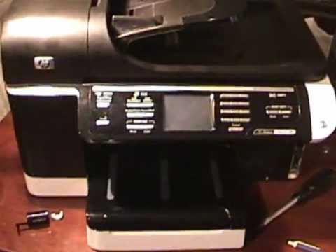 hp officejet pro 8500 paper jam This video explains how to fix your printer when you have a paper jam error message on your computer or printer here we'll remove a paper jam from the back of the printer do not remove jammed paper at this time, but begin by removing any loose paper from the input or output tray press the power.