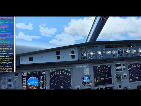 FSX- Aerosoft Airbus X Extended TAP A320 Neo- LPMA(Madeira)/LPPT(Lisbon)