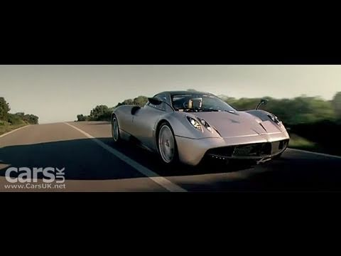 Pagani Huayra First Official Video
