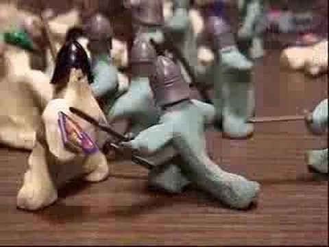 Medieval Claymation Battle