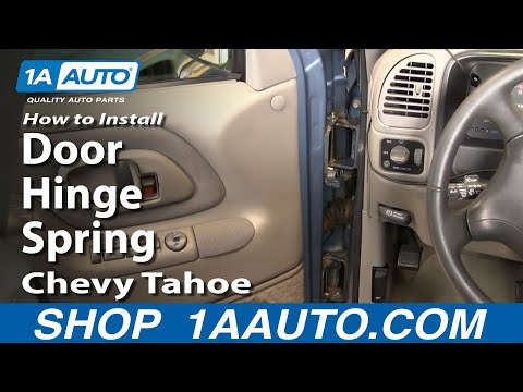 How To Install Replace Door Hinge Spring Chevy GMC Truck SUV 1AAuto.com