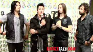 Papa Roach Exclusive interview with ROCKERRAZZI