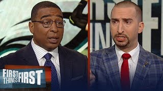Nick and Cris disagree about Nick Foles' future with the Eagles | NFL | FIRST THINGS FIRST