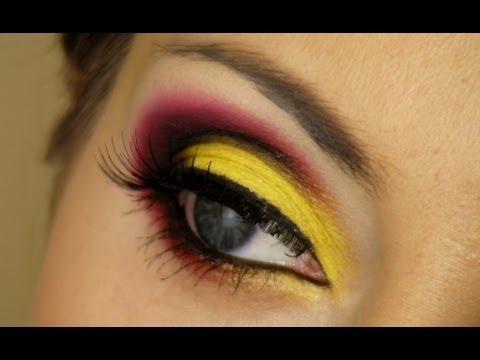 Germany - EURO 2012 Football Fan Makeup - Németország - EURO 2012 Labdarúgó Fan Smink