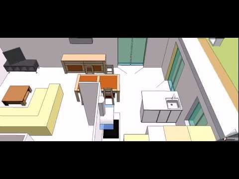 Sketchup maison le masson type 5 monts youtube for Modele maison le masson