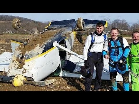 Cessna 205 Crash POV