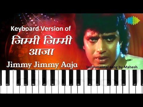 Jimmy Jimmy Aaja - Keyboard Instrumental Cover