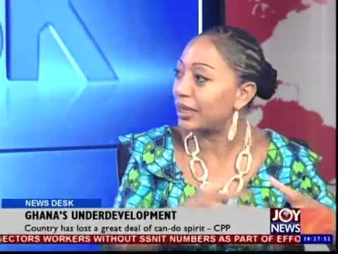 Ghana's Underdevelopment - News Desk (5-01-15)