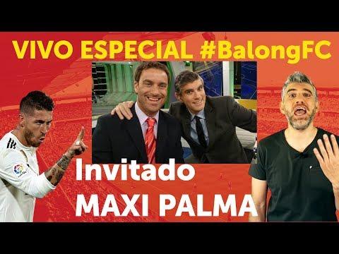 Maxi Palma, entrevista en Vivo por #BalongFC