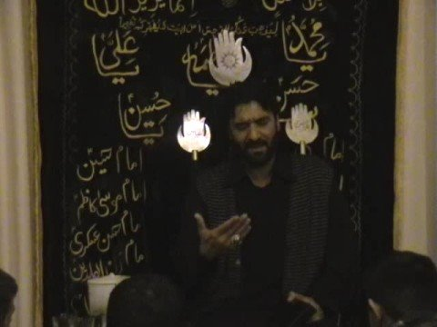 P2 p4:nadeem Sarwar  At  Al Zahra Foundation Nottinghma Uk video