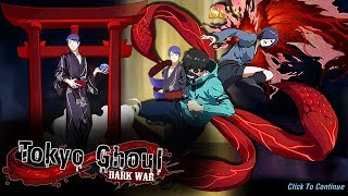 KANEKI / TOUKA TOGETHER?! + SSR TSUKIYAMA YUKATA!   Tokyo Ghoul Dark War - Android
