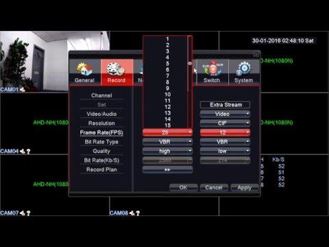 82 Series 1080N AHD CCTV DVR. AHD, Analog and NVR