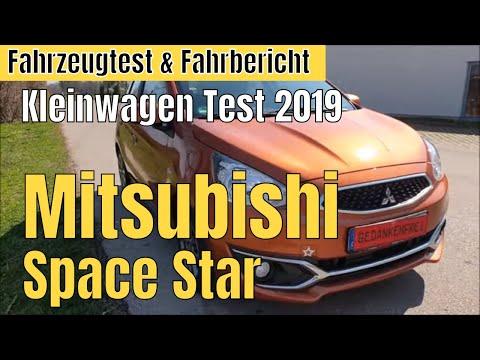 Mitsubishi Space Star perfekter japanischer Kleinwagen für wenig Geld? Kleinwagen Test 2019