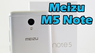 Meizu M5 Note Обзор смартфона