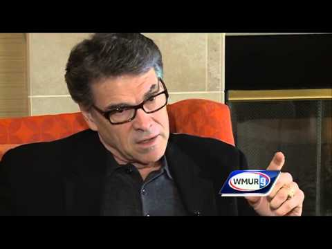 Raw video: One-on-one interview with Rick Perry