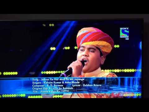 Indian idol junior 2nd august moti and badshah best ever performance