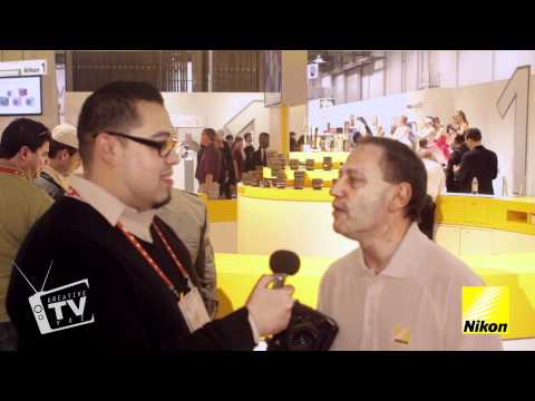CES 2012 Nikon D4 Highlight