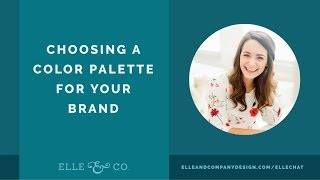 Choosing a Color Palette for Your Brand