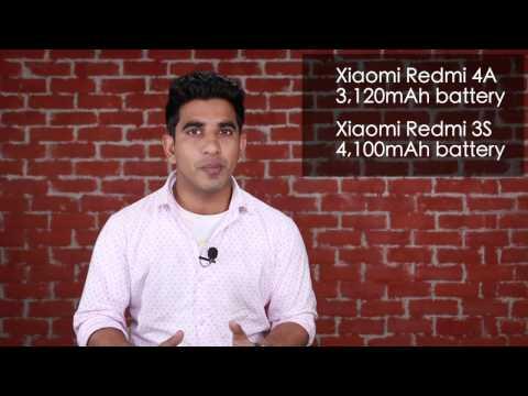 Xiaomi Redmi 4A Vs Xiaomi Redmi 3S: Comparison [3 Reasons To Buy Redmi 3S]]
